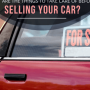 What are the things to take care of before selling a car?