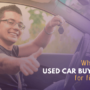 What are the used car buying tips for first-timer?