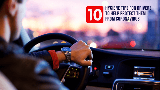Hygiene tips for drivers to help protect them from coronavirus