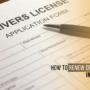 How to Renew Driving Licence in New jersey?