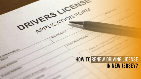 Renew Driving Licence in New jersey