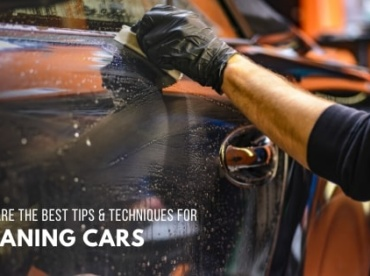 techniques for cleaning cars