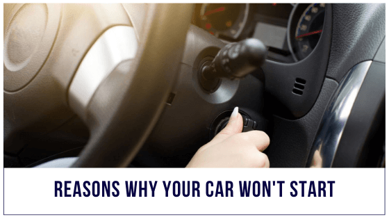 Why your car won't start