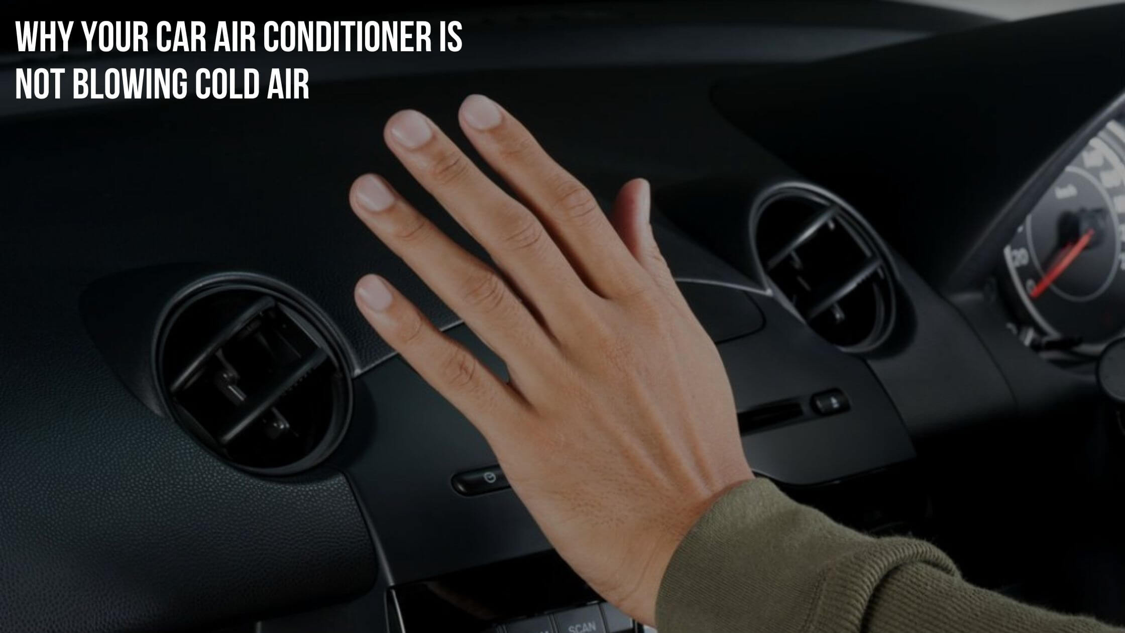 car ac is not blowing cold air