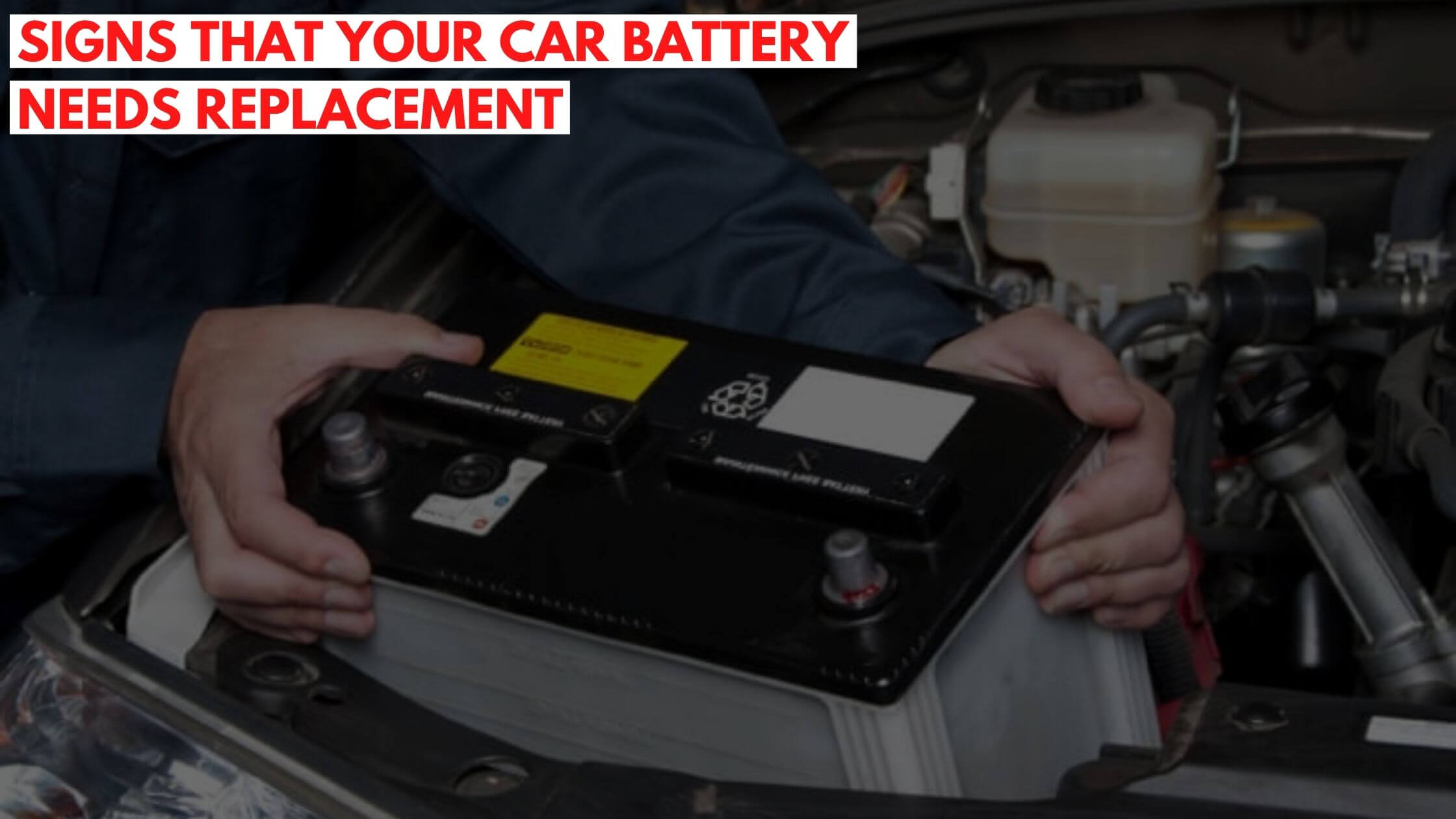 Car Battery Needs Replacement