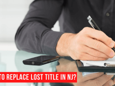 How to replace lost car title in NJ?