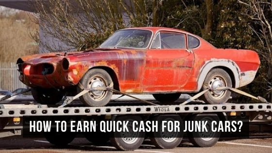 earn quick cash for junk cars