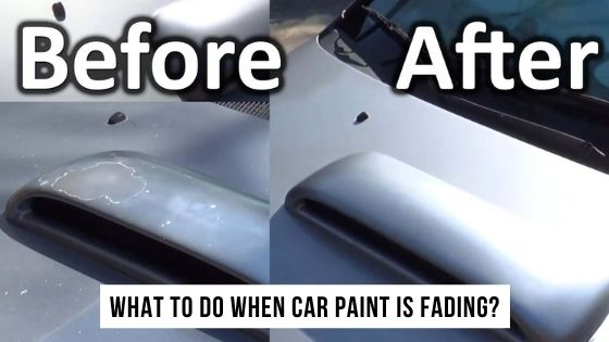 What to do when car paint is fading?